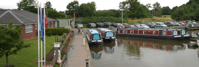 Blackwater Marina in Ellesmere